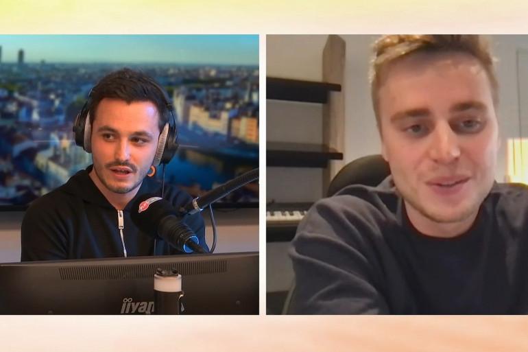 Klingande en interview dans Le Studio Fun Radio