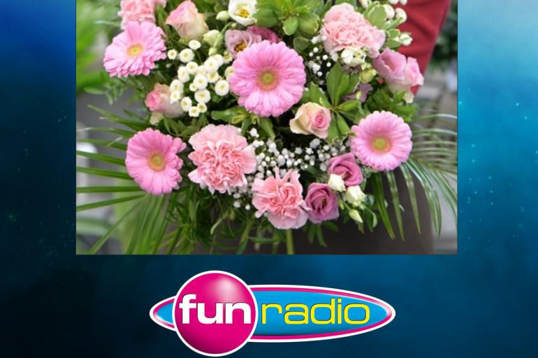 Bouquet de fleurs à gagner