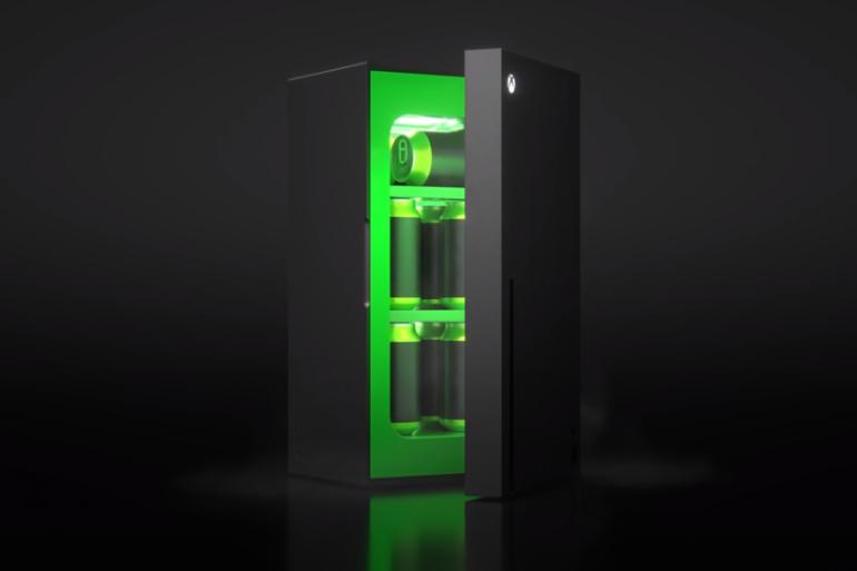 Microsoft dévoile son mini-frigo Xbox Series X