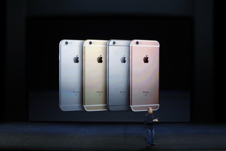 Les nouveaux iPhone présentés par Apple
