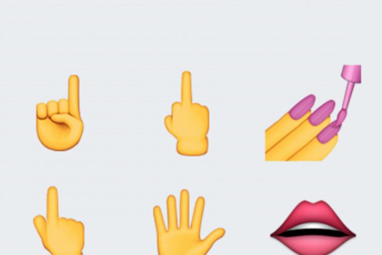 Le doigt d'honneur à l'honneur dans le prochain iOS