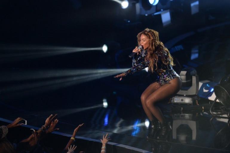 Beyoncé au VMA en 2014