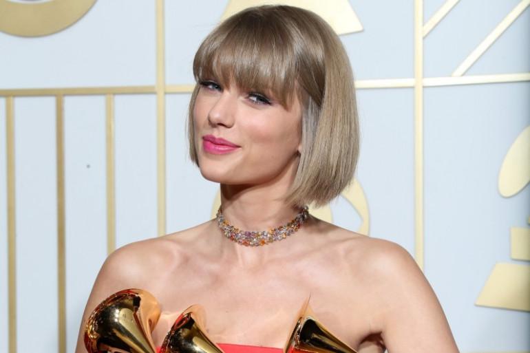 Taylor Swift a gagné trois prix pour les Grammy Awards