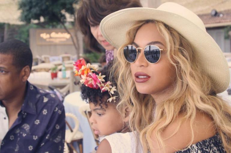 Beyonce fête Pâques avec Blue Ivy