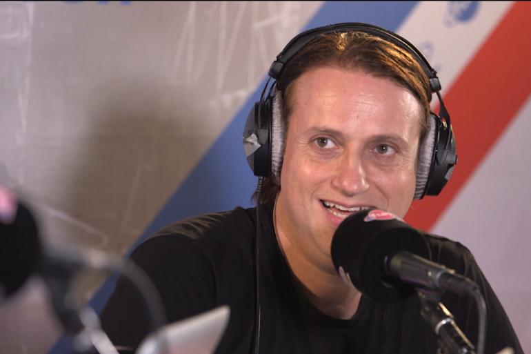 EDX - Interview 30 minutes avant son show à l'EMF