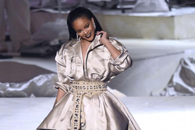 La jolie Rihanna lors de la remise de son prix