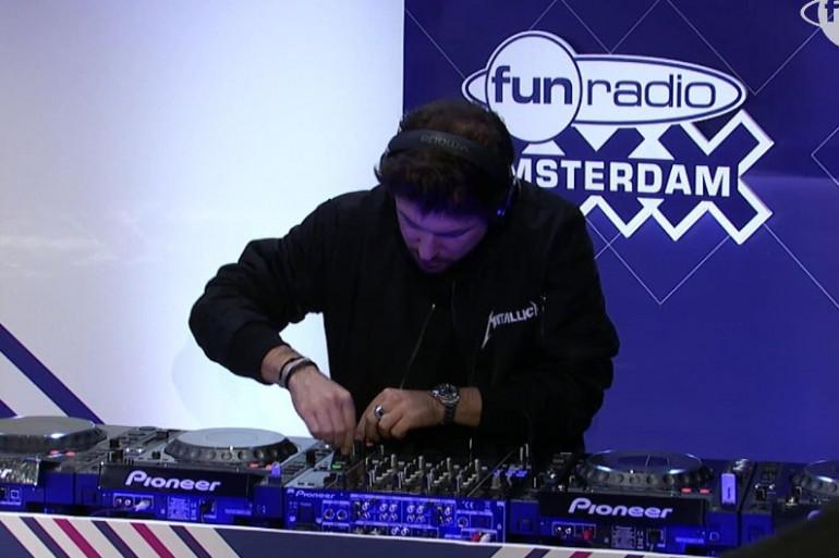 Quentin Mosimann en mix à Amsterdam