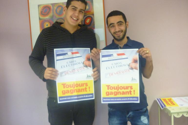 Salah et Ruben participent au Challenge Citoyen à Vandoeuvre-lès-Nancy