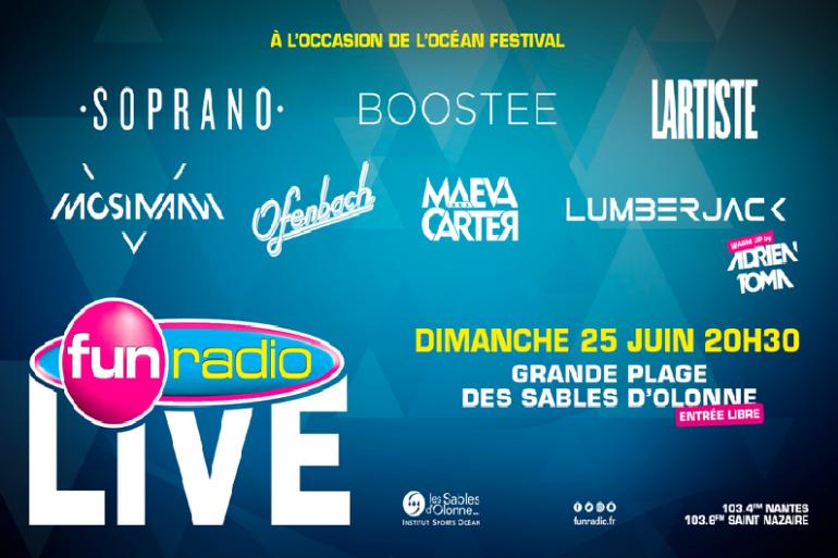 Fun Radio Live - Sable D'Olonne
