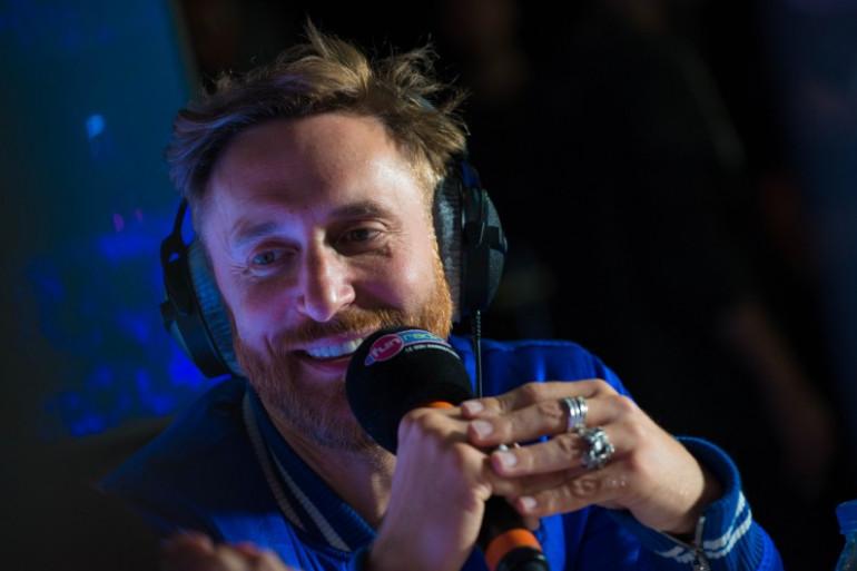 David Guetta en interview sur Fun Radio