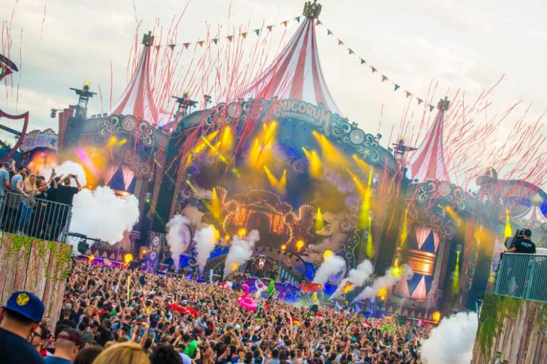 La mainstage de Tomorrowland