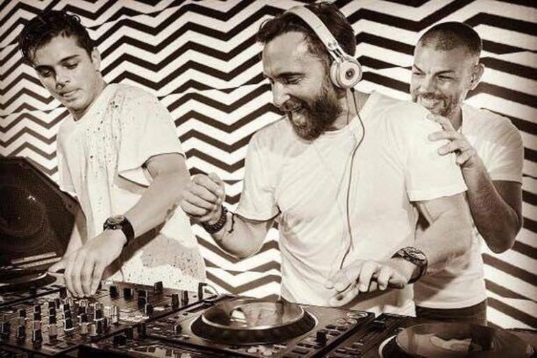 Martin Garrix et David Guetta