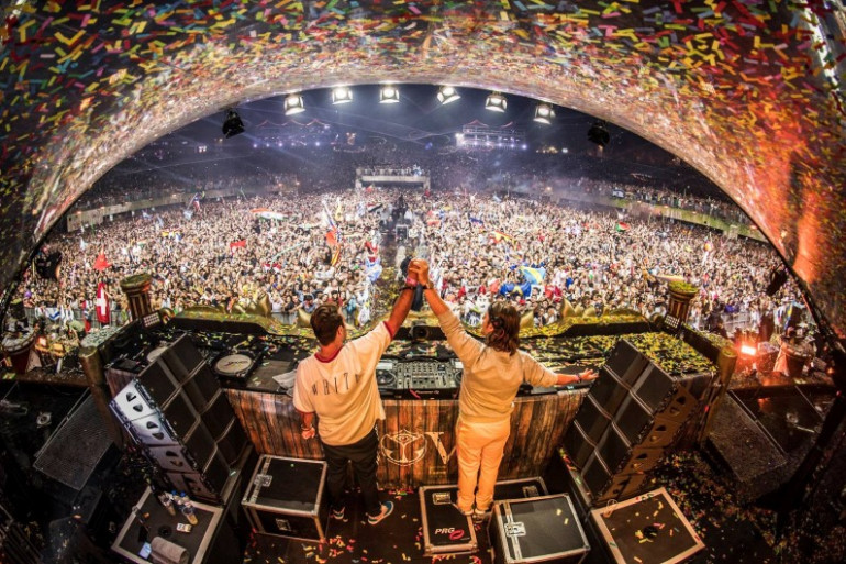 Axwell /\ Ingrosso à Tomorrowland édition 2017