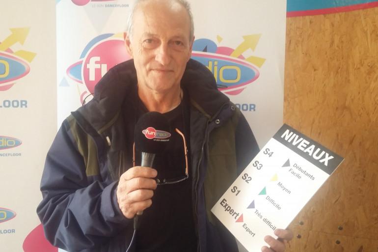 Michel Demange, président du Stanislas Moto Club