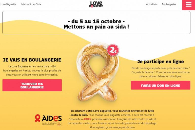 Capture écran lovebaguette.com