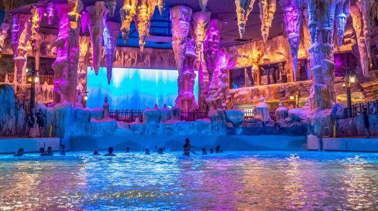 Les attractions sont mises en scène dans un décor nordique - Photo : capture écran rulantica.com