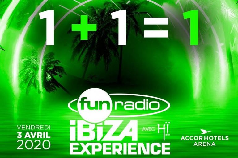 """Quel est le nom du deuxième artiste présent à """"Fun Radio Ibiza Experience 2020"""""""