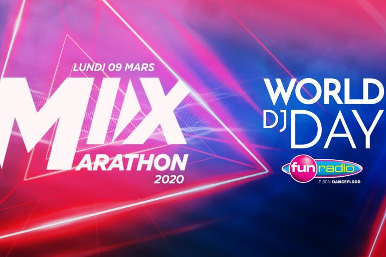 """""""Mix marathon 2020"""" World DJ Day"""