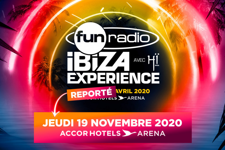 Fun Radio Ibiza Experience 2020 reporté à novembre