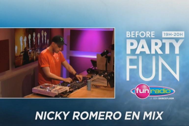 Le Before Party Fun : revivez le mix de Nicky Romero