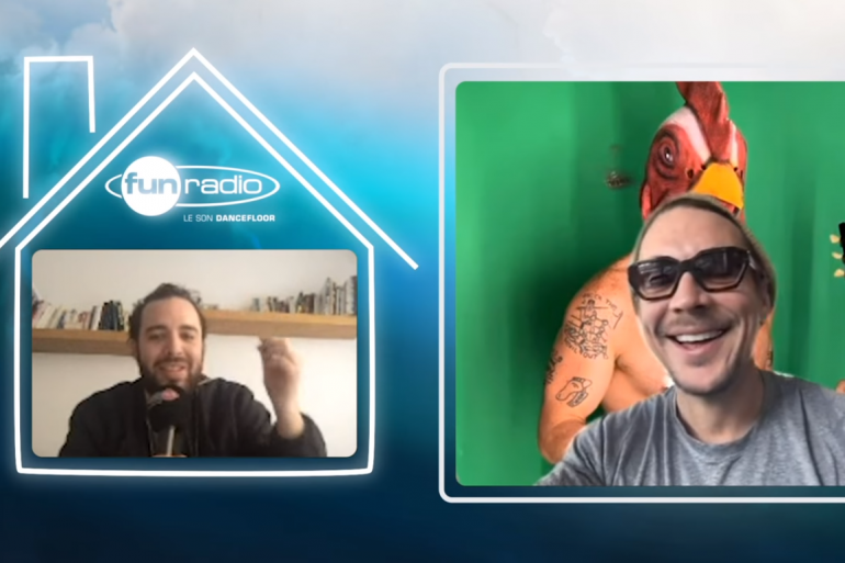 Diplo en interview sur Fun Radio