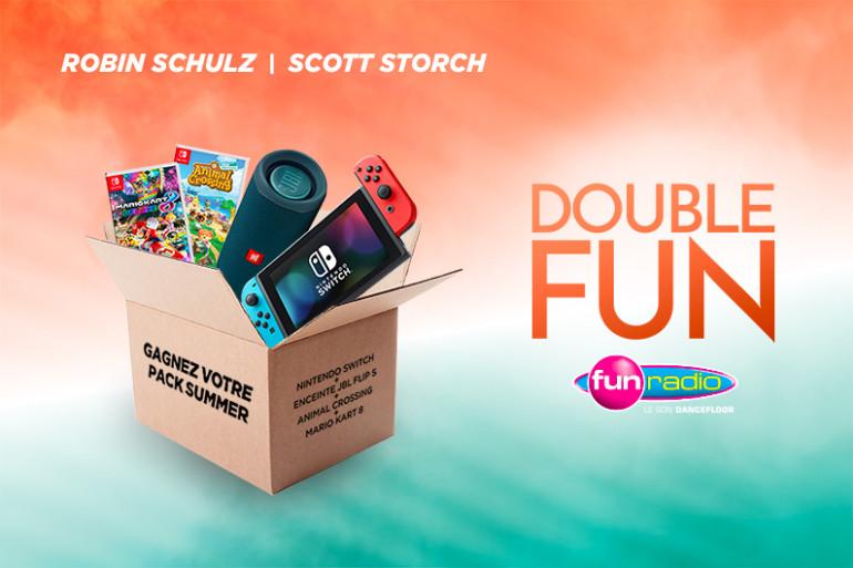 Double Fun : remportez votre Pack Summer (Nintendo Switch Lite et enceinte JBL)