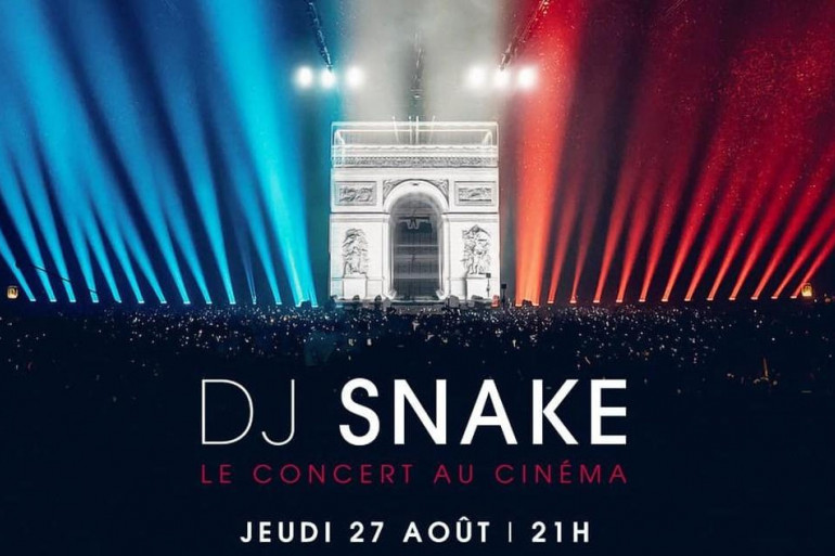 Le concert de DJ Snake débarque au cinéma le 27 août