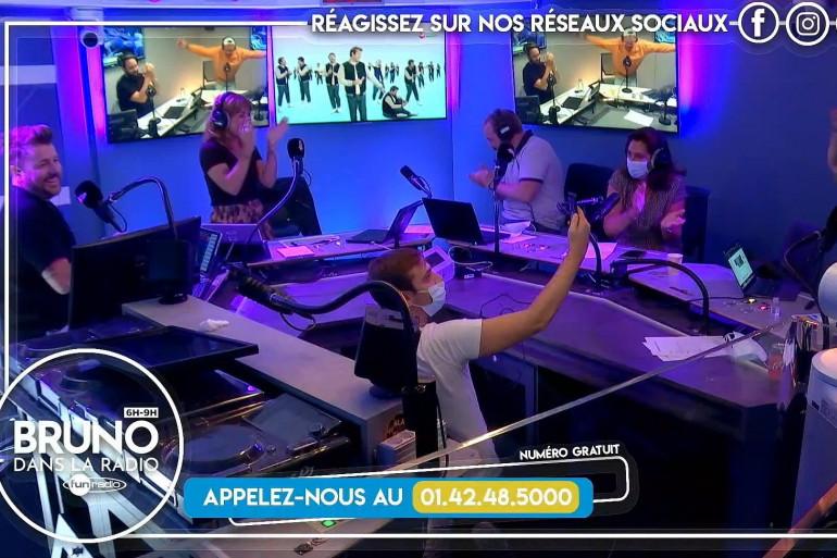 """Jonathan, fidèle auditeur de Fun Radio, remporte les 100.000 euros dans """"Bruno dans la radio"""""""