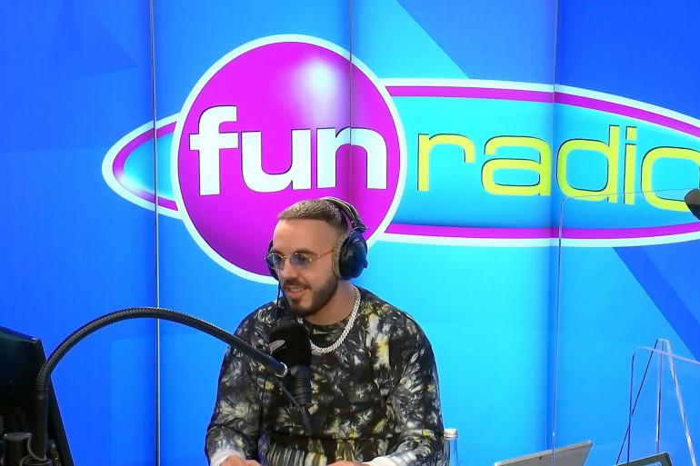 Lucenzo dans les studios de Fun Radio
