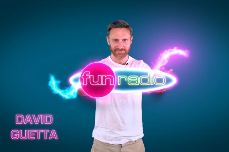 David Guetta est sur Fun Radio