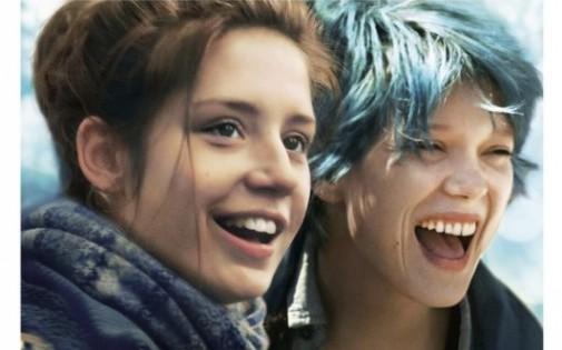 """L'affiche du film """"La vie d'Adèle"""", sorti en salle  9 octobre 2013"""
