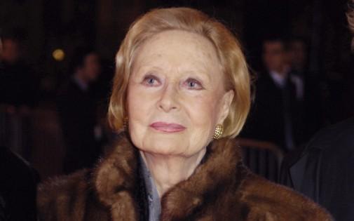 L'actrice Michèle Morgan lors de la cérémonie des César, le 24 février 2007.