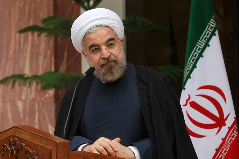 Hassan Rohani, à Téhéran, le 24 novembre. (archives)