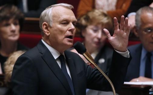 Le Premier ministre, Jean-Marc Ayrault, le 14 janvier à l'Assemblée nationale.