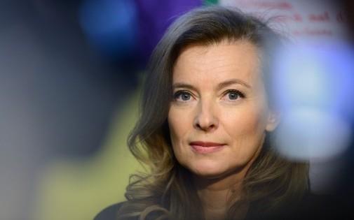 Valérie Trierweiler, le 2 décembre 2013 à Créteil.