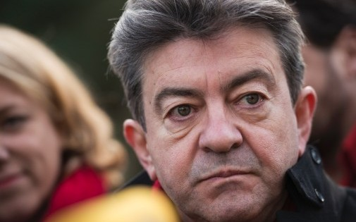 Jean-Luc Mélenchon, le co-président du Parti de Gauche, le 17 janvier 2014.