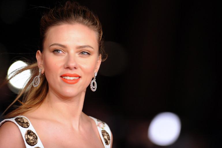 L'acrice Scarlett Johansson au festival du film international de Rome en novembre 2013