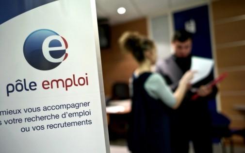 Une agence Pôle emploi de Dijon le 29 février 2009 (archives).