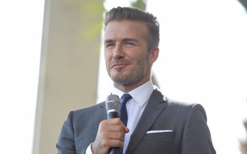 David Beckham à Miami, le 5 février