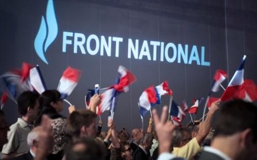 Des partisans du Front national (FN), à Marseille, le 15 septembre 2013 (photo d'illustration).