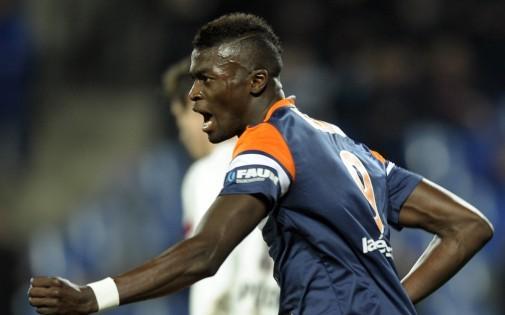Mbaye Niang sous les couleurs de Montpellier