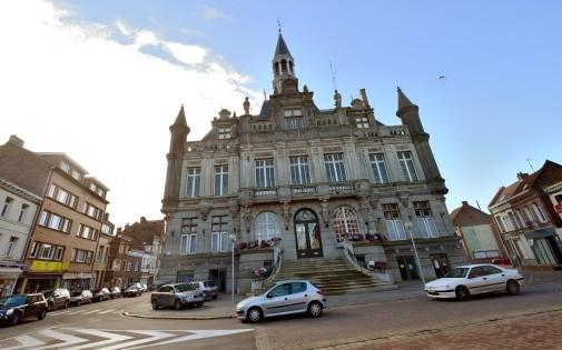 La mairie d'Hénin Beaumont