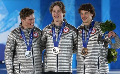 Le triplé américain en ski slopestyle