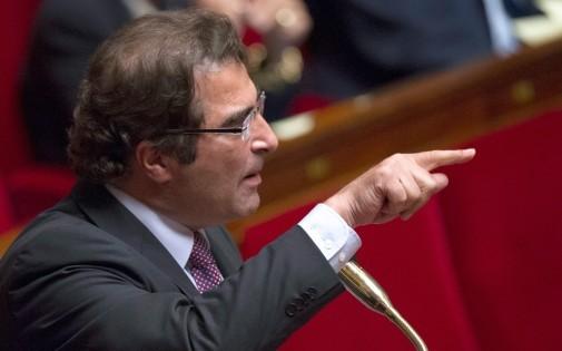 Le président du groupe UMP à l'Assemblée nationale, Christian Jacob, le 9 octobre 2013.