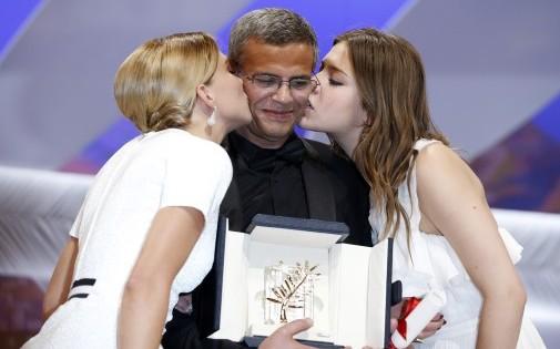 """""""La vie d'Adèle"""" a remporté la Palme d'or à Cannes en 2013, mais un seul César en 2014 (illustration)"""