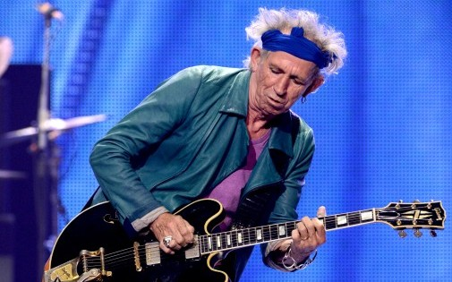 Keith Richards, en concert aux Etats-Unis, le 15 mai 2013.