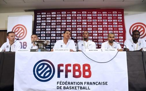 Conférence de presse de la FFBB