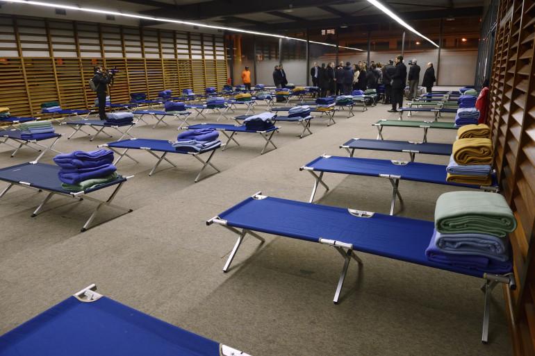Paris, le 22 mars 2013. La moitié des demandes d'hébergement d'urgence n'ont pas abouti en février.