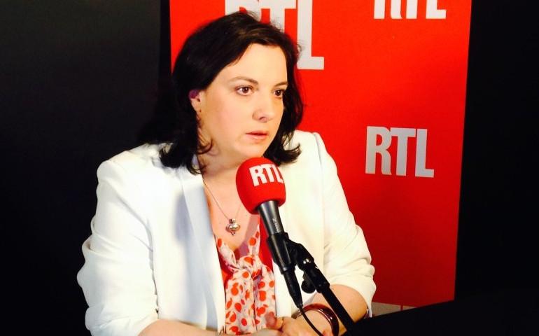 Emmanuelle Cosse, patronne de Europe Ecologie-Les Verts