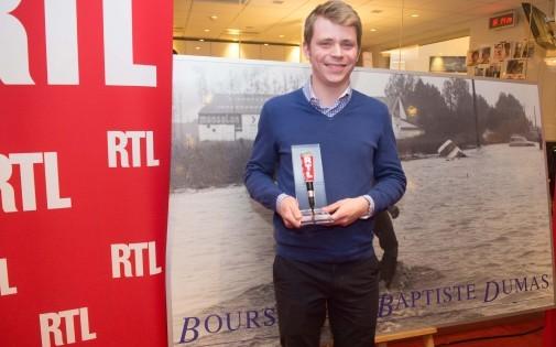 Jacques Serais est le lauréat de la bourse Dumas 2014